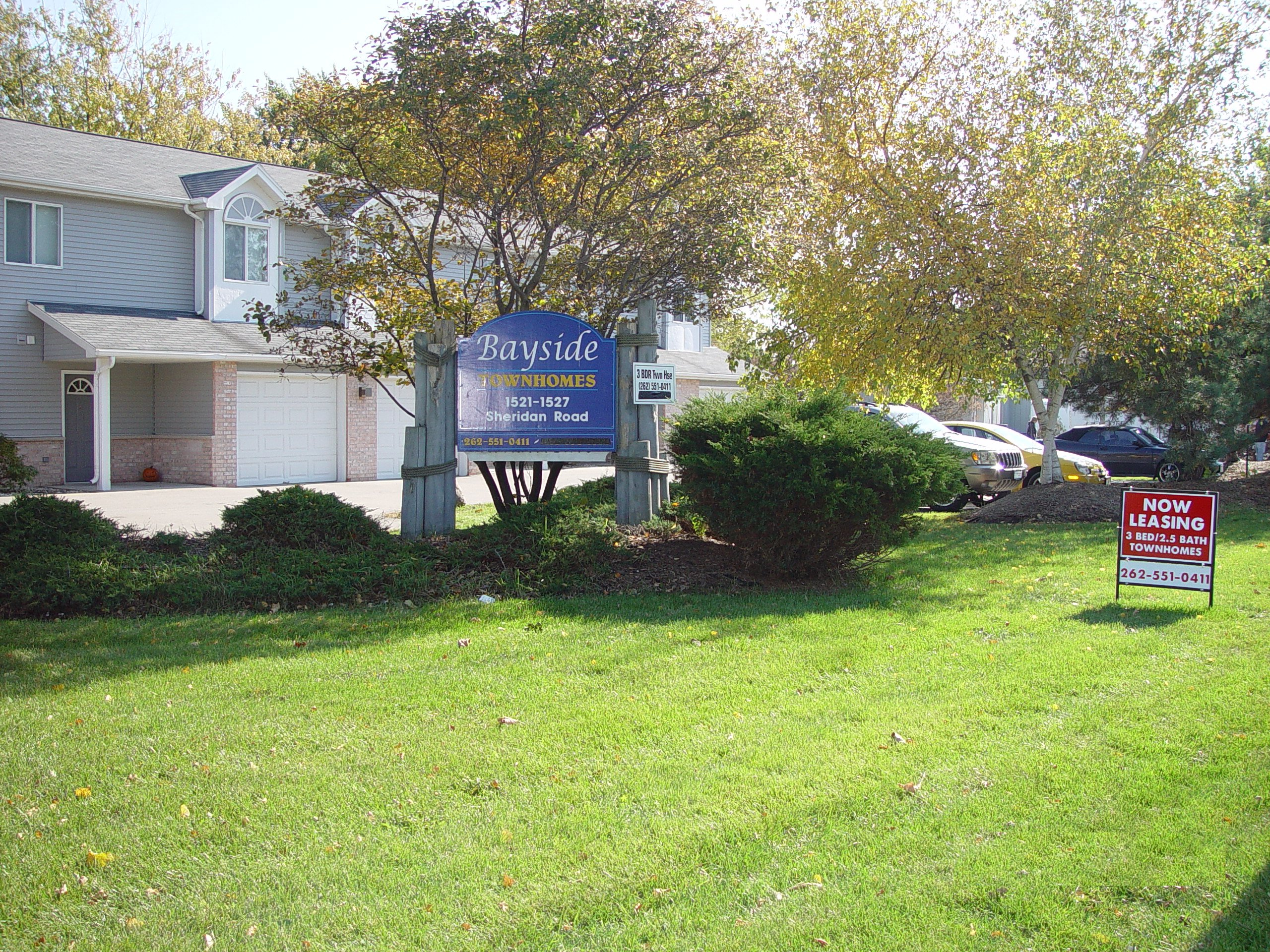 Bayside Townhomes | Wisconsin Lakefront Property Management