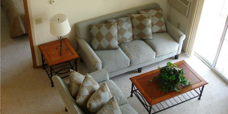 Windward Loft Living Room Furnished Small Size